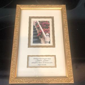 "Imagine Design Framed Picture ""God's Love"""